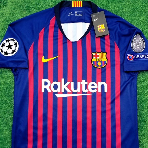 buy popular c6779 4480a 2018/19 Barcelona soccer jersey Messi NWT